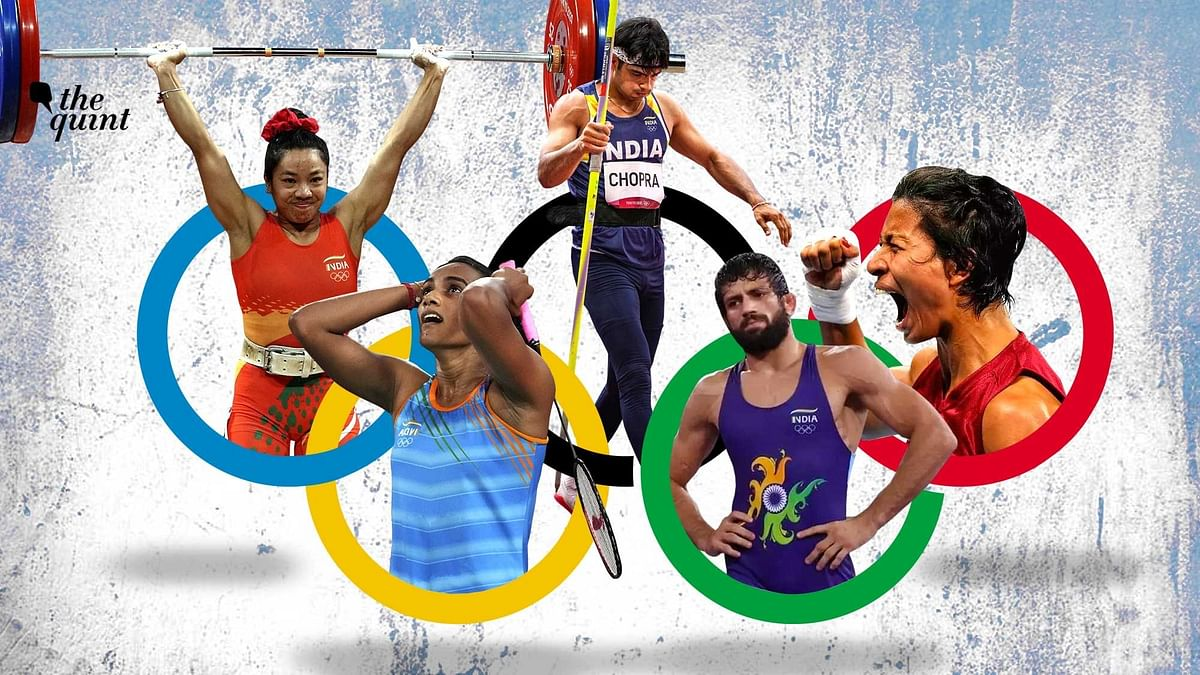 """<div class=""""paragraphs""""><p>The seven medals India won at the Tokyo 2020 Olympics was the country's best-ever performance, beating London 2012's medal haul of six.</p></div>"""