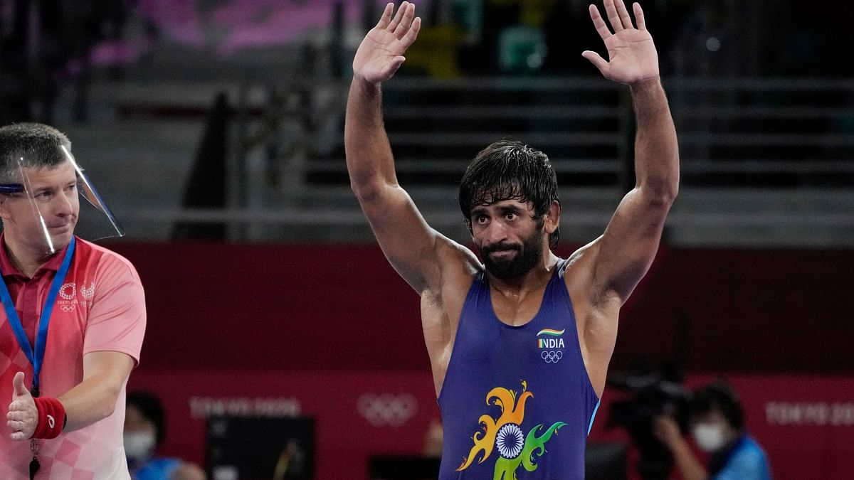 Bajrang Punia Chose to Not Protect Injured Knee in Fight For Bronze in Tokyo