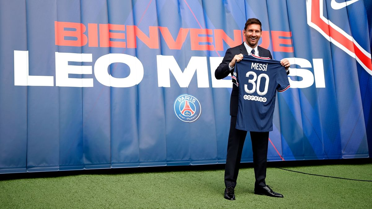 Impatient Lionel Messi Eyes Champions League Glory With PSG