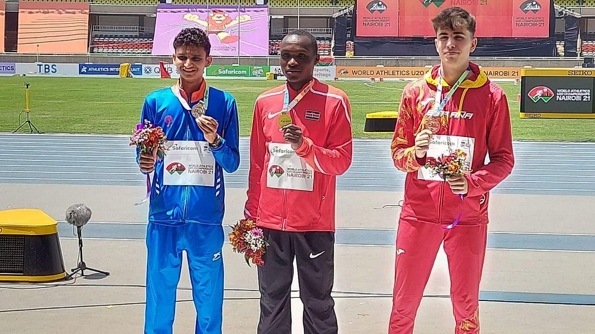 World Athletics U20 C'ships: Amit Khatri Wins silver Medal in 10,000m Race Walk