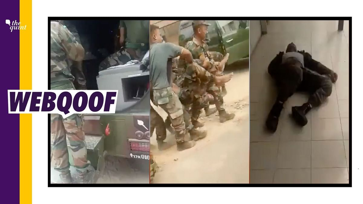 Video of Indian Army Soldiers Collapsing Shared With Anti-Vaccine Narrative