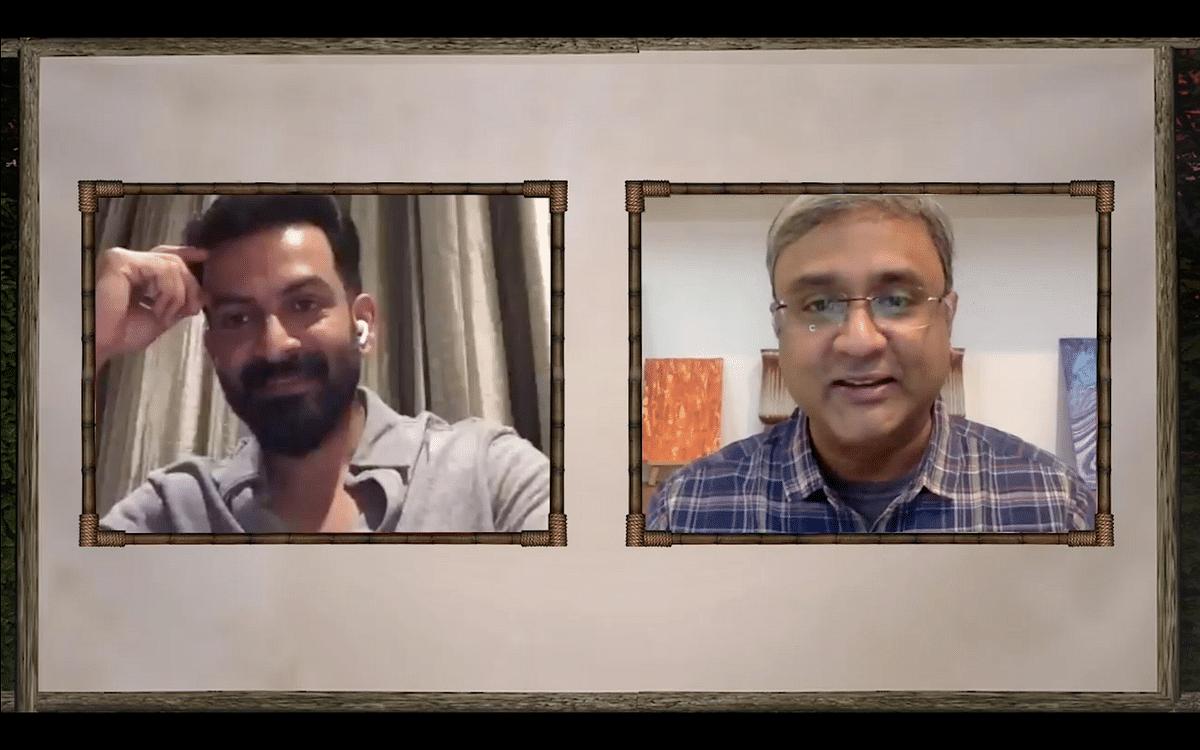 "<div class=""paragraphs""><p>In conversation with Prithviraj Sukumaran.</p></div>"