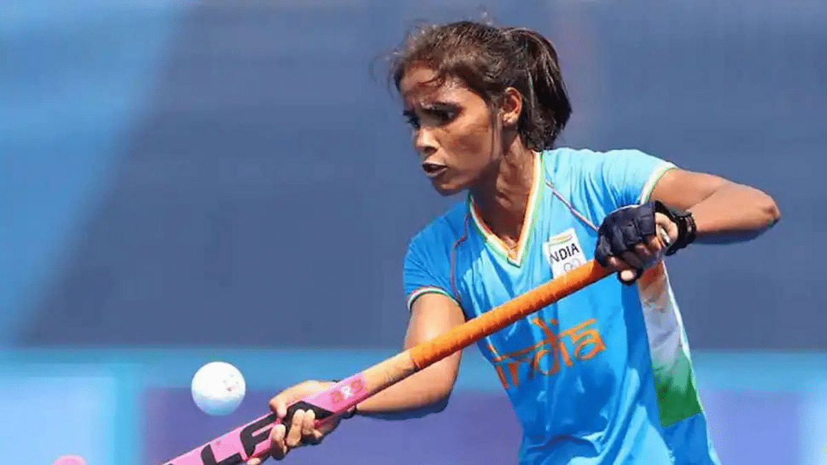 """<div class=""""paragraphs""""><p>Forward in India's international hockey team for the Tokyo Olympics Vandana Katariya spoke to <em>The Indian Express </em>and said that she hopes to end the usage of casteist slurs and wished that people back the team.</p></div>"""