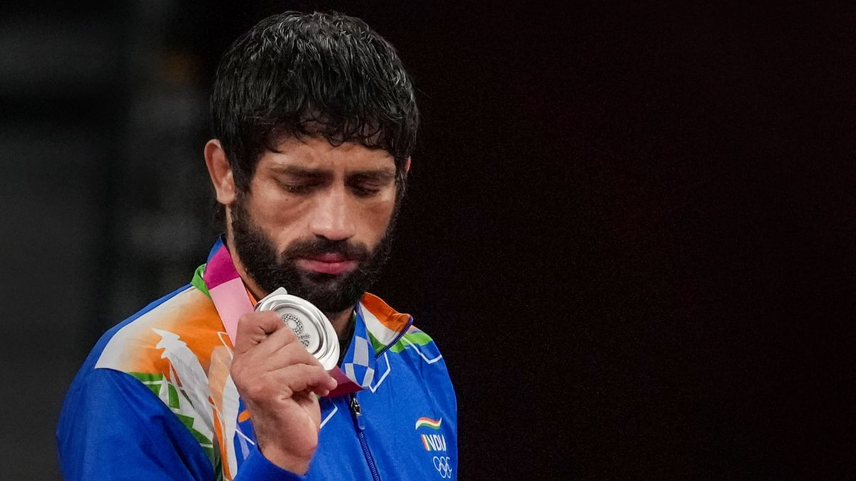 Ravi Kumar Dahiya Finishes With Silver in 57 Kg Wrestling at Tokyo Olympics
