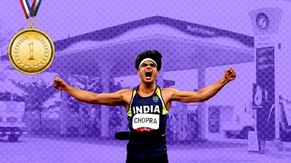 "Gujarat Petrol Pump Celebrates Olympic Gold, Offers Free Fuel to All ""Neerajs"""