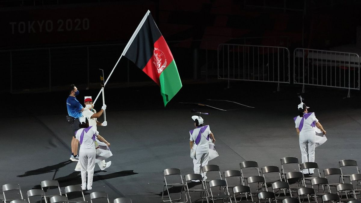 No Athletes, But Afghanistan Flag Included in Paralympic Games Opening Ceremony