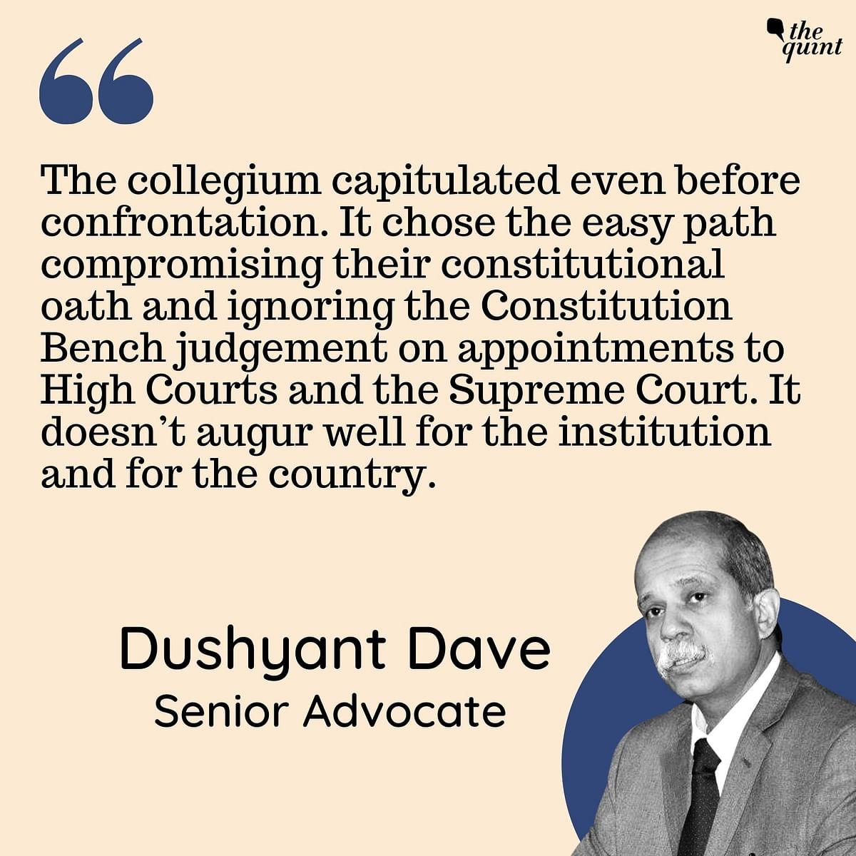 Injustice to Akil Kureshi v Pragmatism: Decoding Collegium's Supreme Court Picks