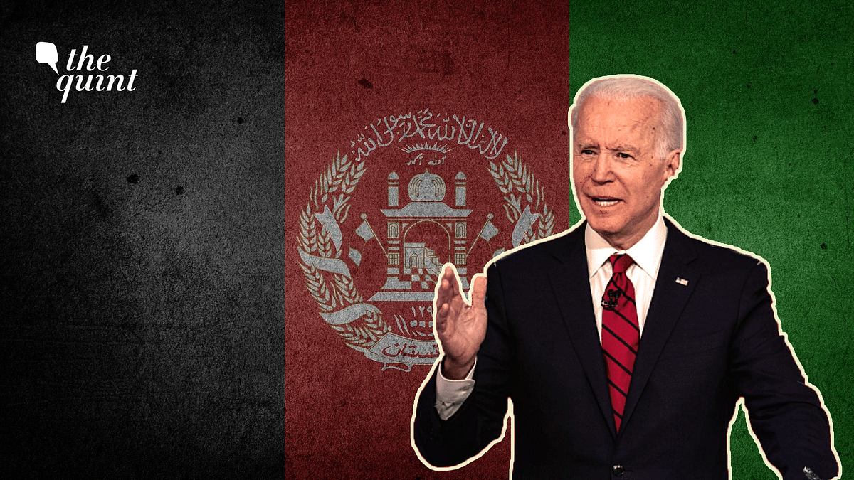"""<div class=""""paragraphs""""><p>Joe Biden doctrine on Afghanistan seems to be uncannily similar to one of Donald Trump's.</p></div>"""