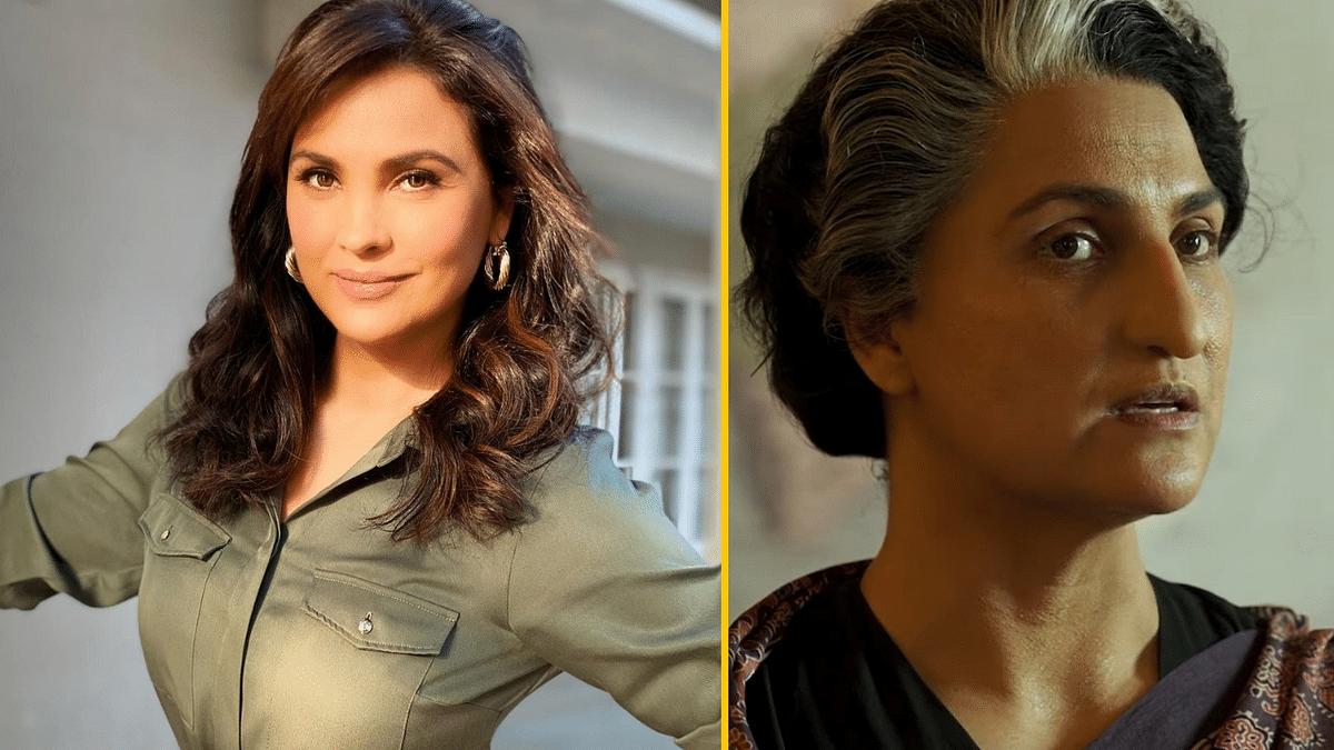 "<div class=""paragraphs""><p>Lara Dutta plays Indira Gandhi in the Akshay Kumar starrer&nbsp;<em>Bell Bottom.</em></p></div>"