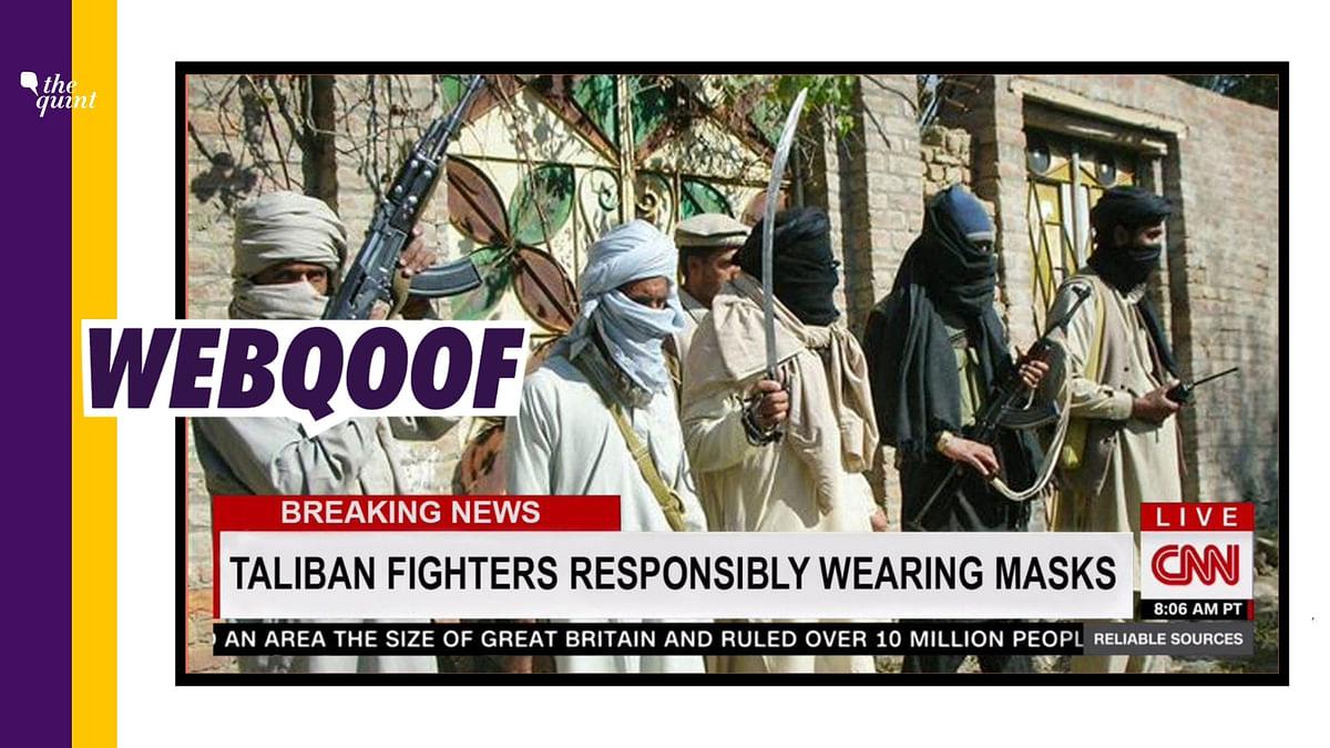 Satirical Article Shared as CNN 'Praising' Taliban For Wearing Masks