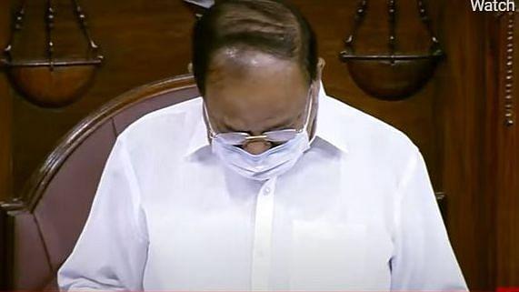Venkaiah Naidu Breaks Down Over Ruckus in Rajya Sabha, Says Had Sleepless Night