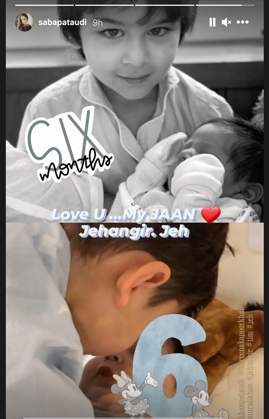 Happy 6 Months My Life: Kareena Kapoor Wishes Jeh; Shares Pic