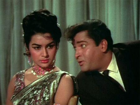 """<div class=""""paragraphs""""><p>Shammi Kapoor and Asha Parekh in <em>Teesri Manzil</em>.</p></div>"""