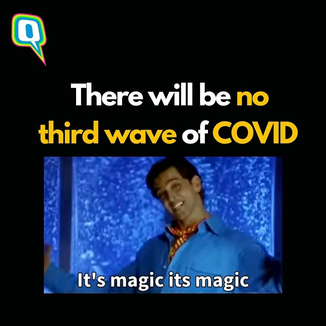 """<div class=""""paragraphs""""><p>Let's hope there's no third wave of COVID-19 in India *Now Praying*</p></div>"""