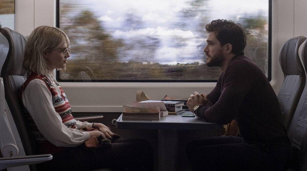 """<div class=""""paragraphs""""><p>A still from <em>Strangers on a (Dublin) Train</em>.</p></div>"""