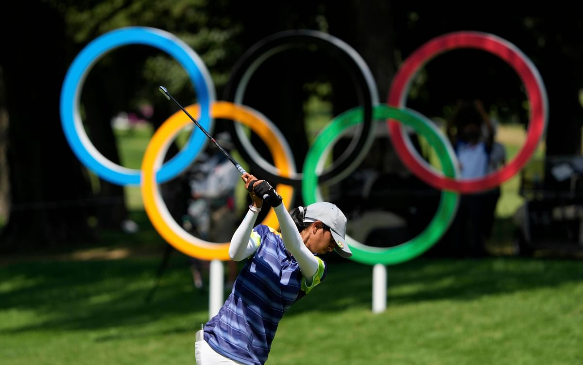 "<div class=""paragraphs""><p>Aditi Ashok at the 2020 Tokyo Olympics.</p></div>"