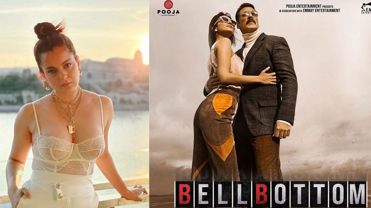 Kangana Ranaut Cheers For Akshay Kumar's 'BellBottom' as it Hits Theatres