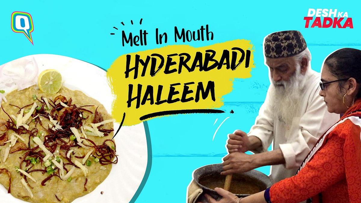 Hyderabadi Haleem: Royal, Mushy And One of Its Kind