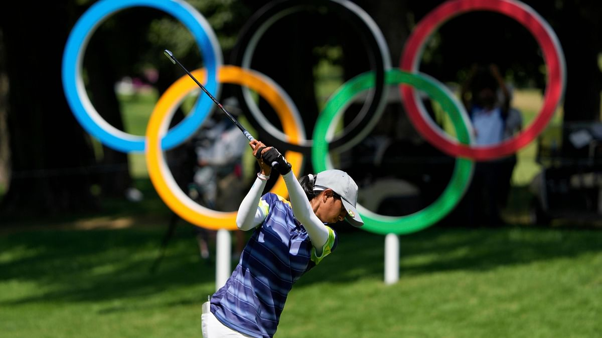 Golfer Aditi Ashok in Second Place After Round 3, Silver Medal a Possibility