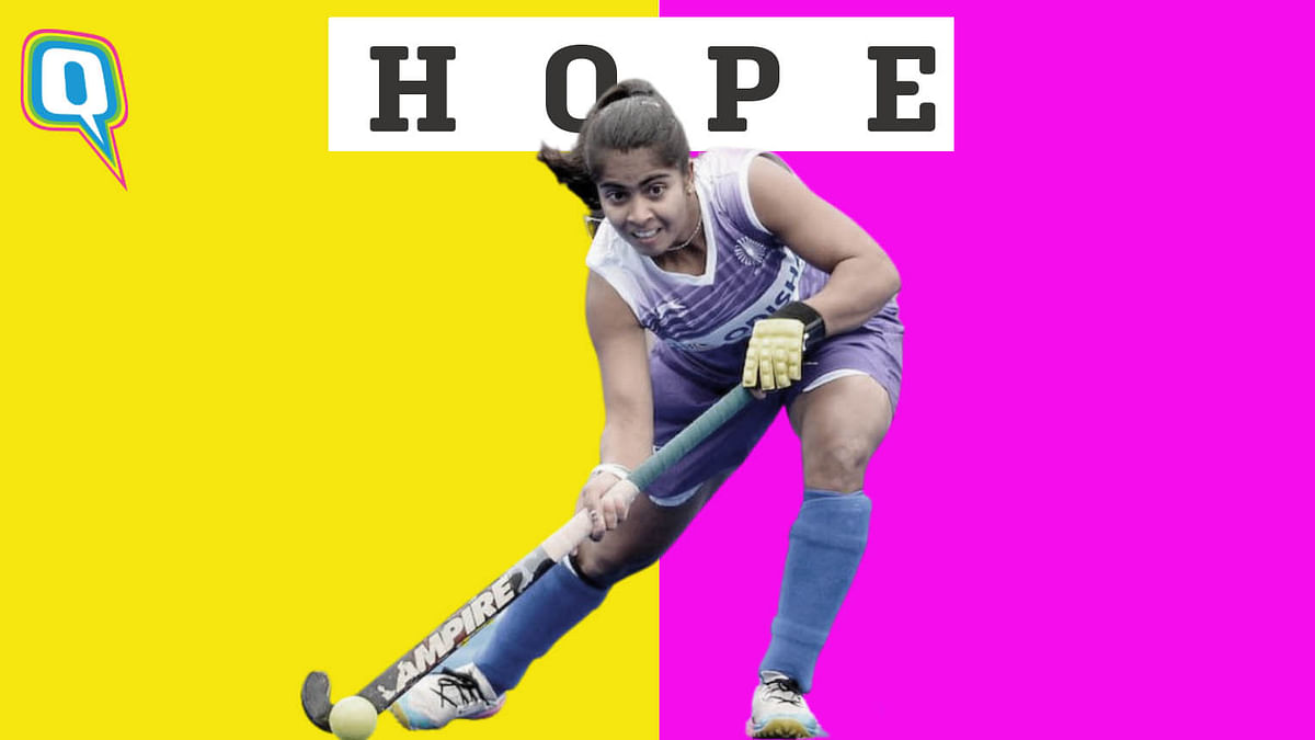 """<div class=""""paragraphs""""><p>How Neha Goyal beat all odds to play in the Indian women's hockey team at Tokyo Olympics 2020.</p></div>"""