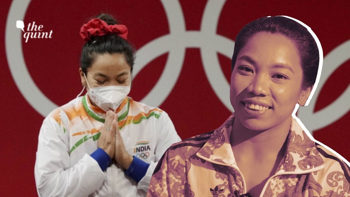 """<div class=""""paragraphs""""><p>Mirabai Chanu opened India's campaign with a silver in weightlifting at the 2020 Tokyo Olympics.</p></div>"""