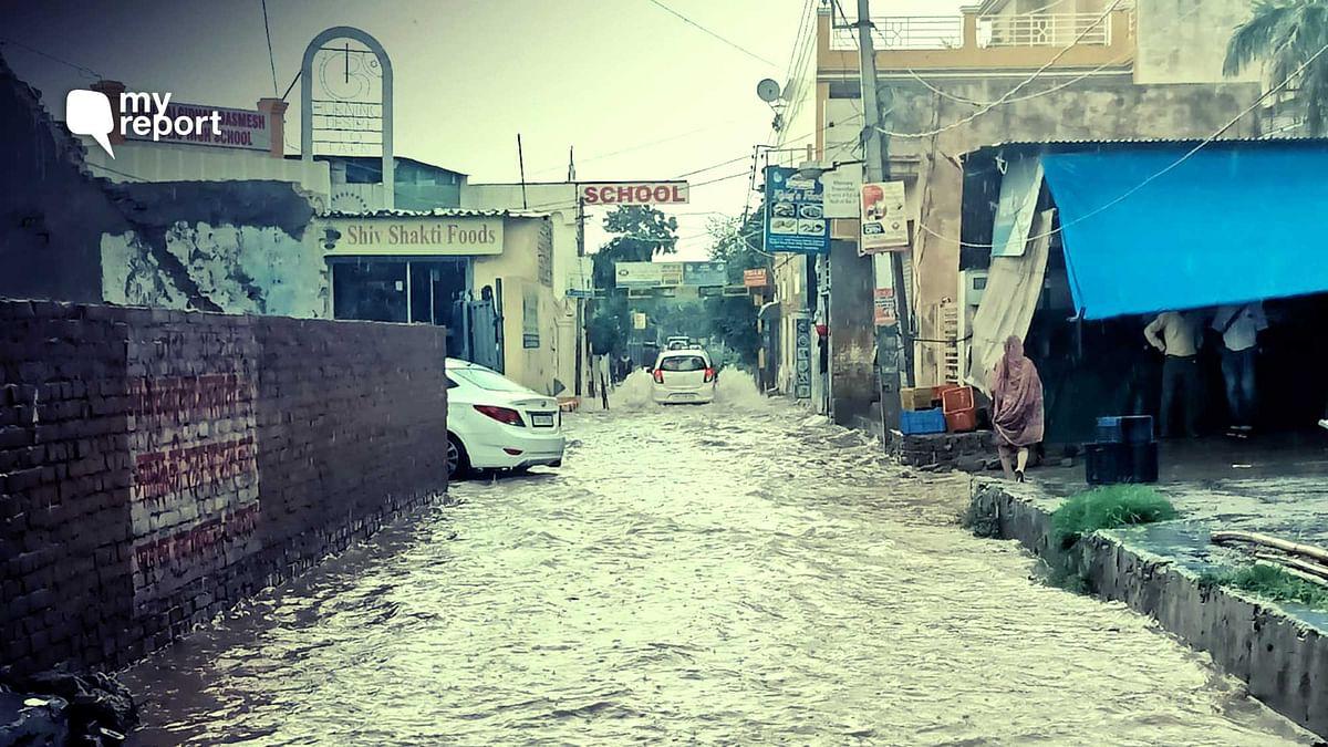 'Life at Standstill in Waterlogged Zirakpur, Authorities Indifferent'