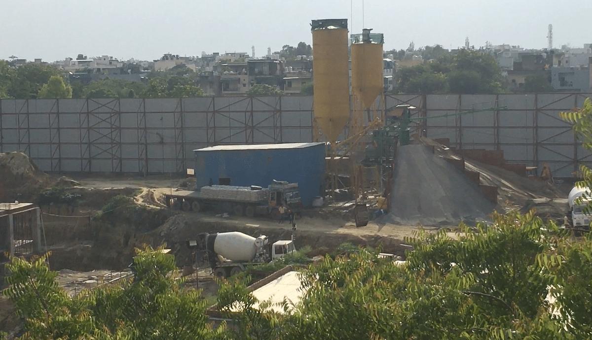 "<div class=""paragraphs""><p>Madipur hospital construction site.&nbsp;</p></div>"