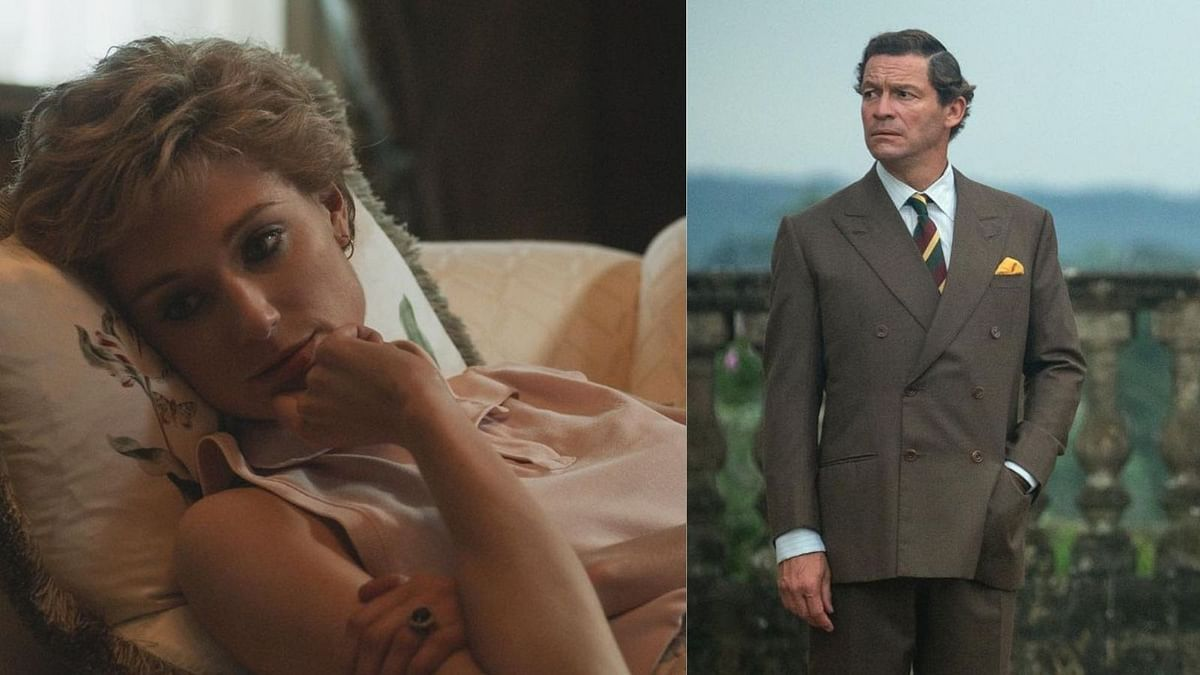 """<div class=""""paragraphs""""><p>Elizabeth Debicki and Dominic West as Princess Diana and Prince Charles respectively.&nbsp;</p></div>"""