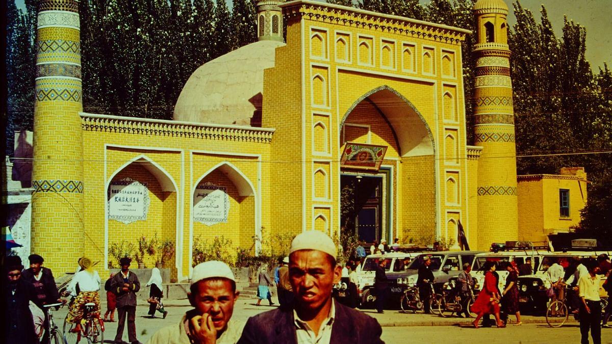 "<div class=""paragraphs""><p>The Id Kah mosque in Kashgar, Xinjiang.</p></div>"