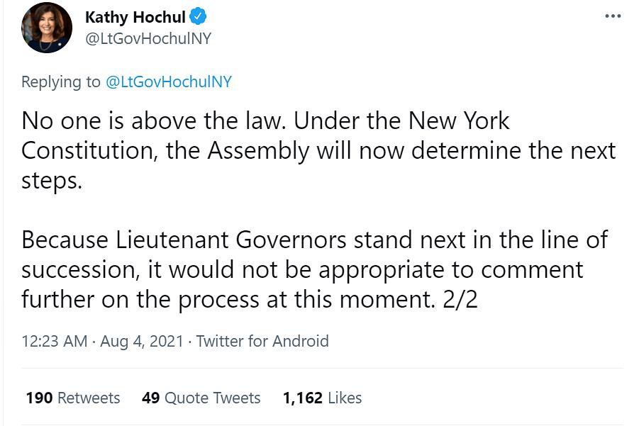 "<div class=""paragraphs""><p>New York Lieutenant Governor Katht Hochul via Twitter.</p></div>"