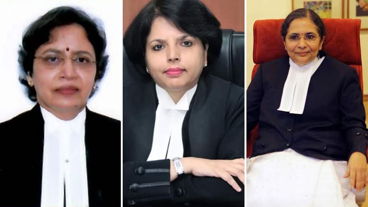 """<div class=""""paragraphs""""><p>In a first, the collegium has cleared the names of three women judges, including that of Karnataka High Court justice BV Nagarathna.</p></div>"""