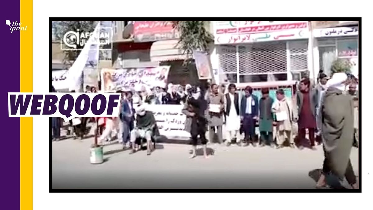 """<div class=""""paragraphs""""><p>The video claims to show a live execution by the Taliban in Afghanistan.&nbsp;</p></div>"""