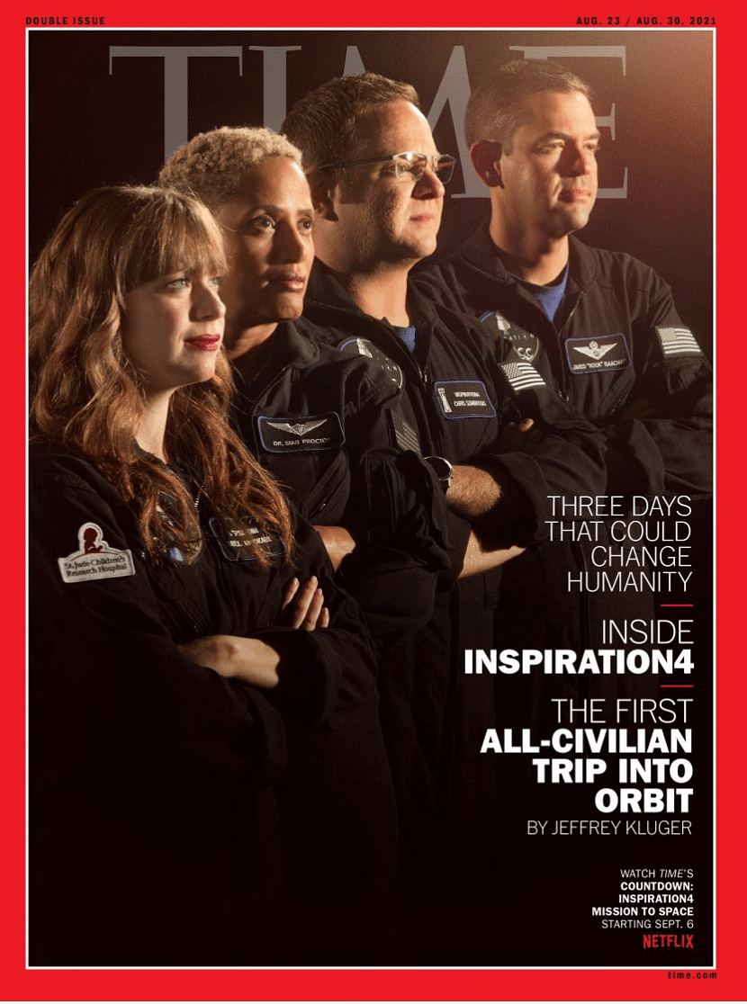 """<div class=""""paragraphs""""><p>Cover of 23 August edition of TIME magazine does not feature Biden and Harris.</p></div>"""