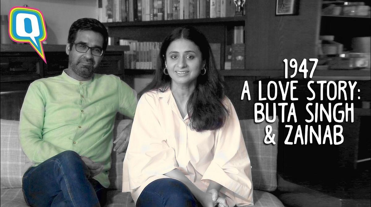 Watch Rasika Dugal and Mukul Chadda Narrate a Tragic Love Story from 1947