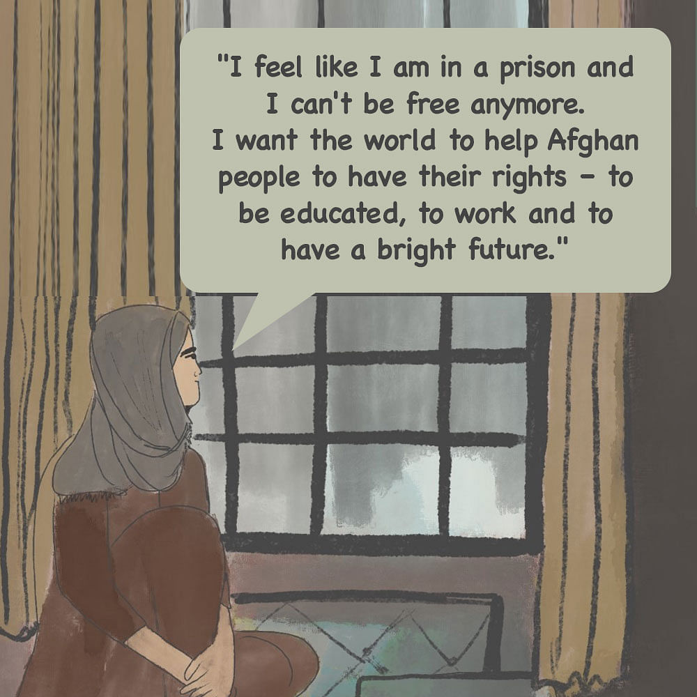 'Scared to Hope Even, Just Want Kin Alive': We Read Out Ordeals of Afghan Women