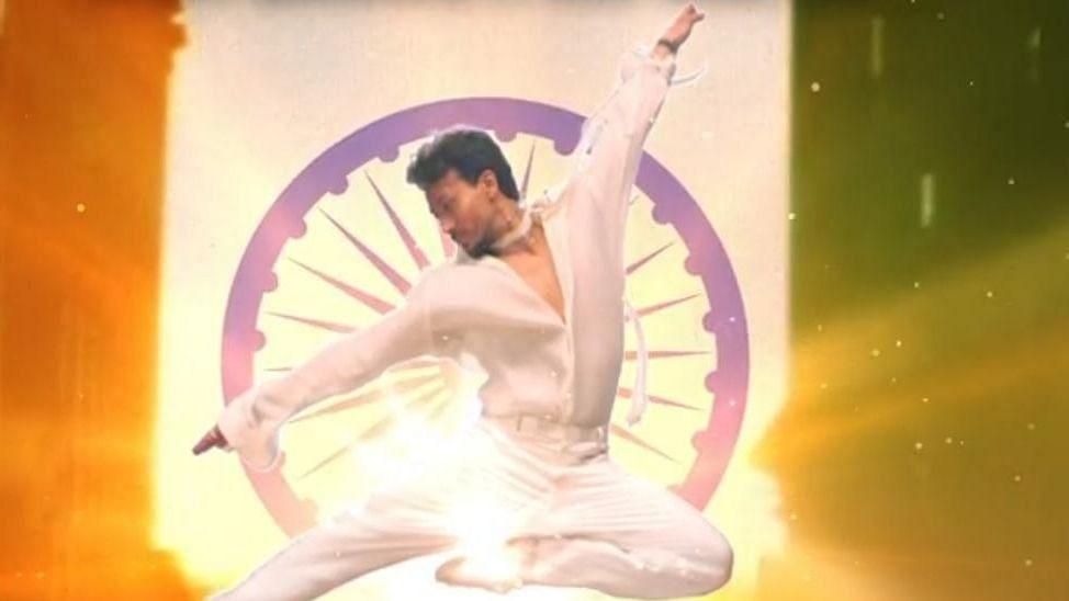 Tiger Shroff Shares Motion Poster for His Next Single Vande Mataram