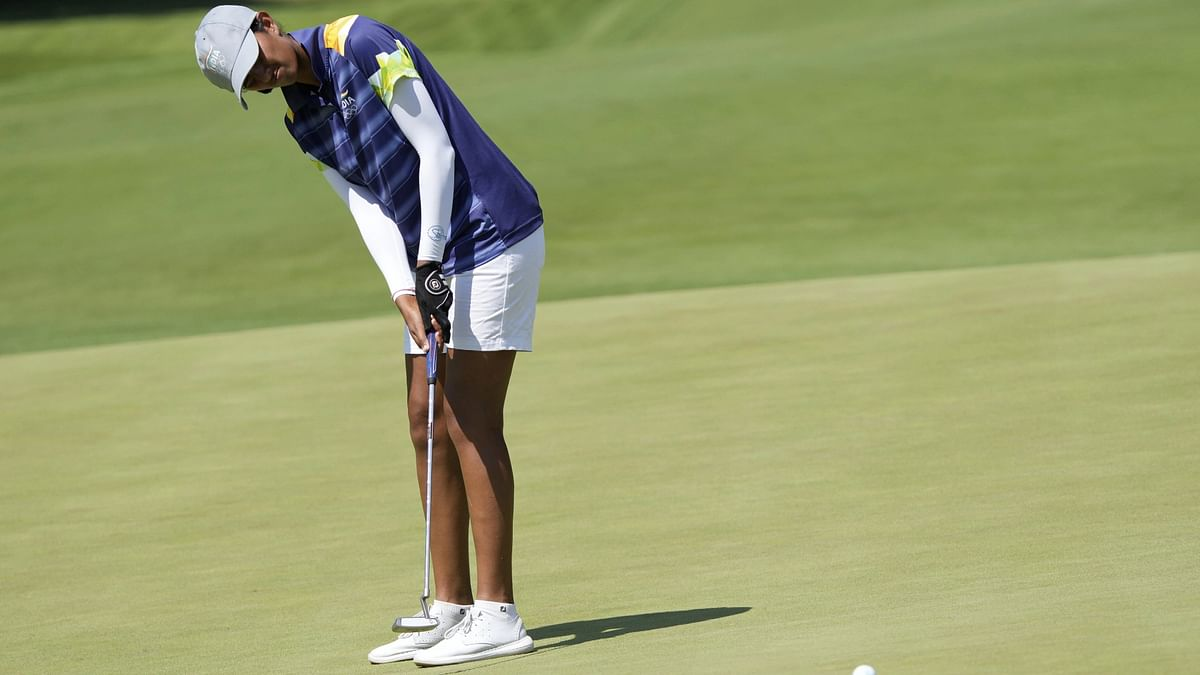 """<div class=""""paragraphs""""><p>Aditi Ashok finished 4th during the Tokyo Olympics 2020.&nbsp;</p></div>"""