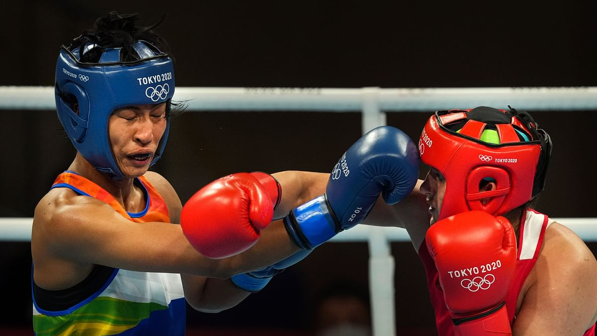 """<div class=""""paragraphs""""><p>Lovlina&nbsp;Borgohain lost her Tokyo Olympics semi-final and will now return home with a bronze.</p></div>"""