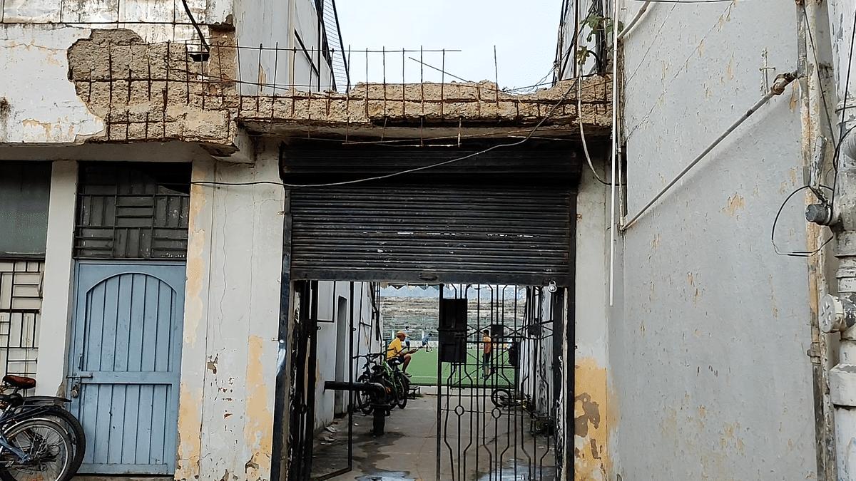 """<div class=""""paragraphs""""><p>Bhopal's Aishbagh stadium as it stands now.</p></div>"""