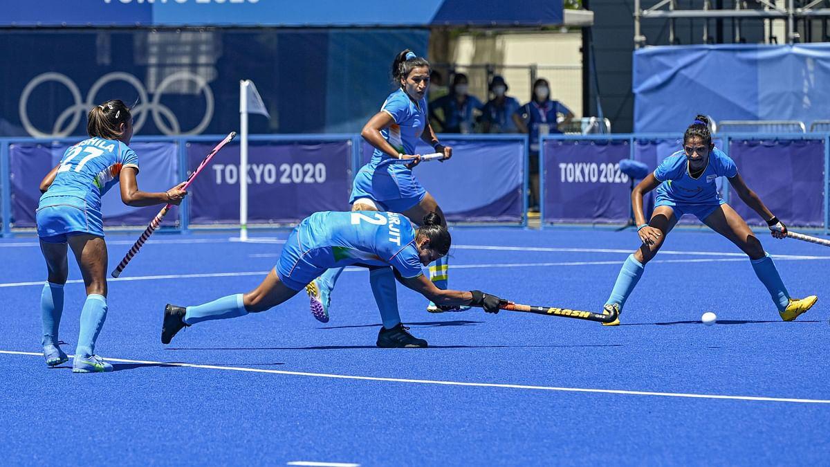 """<div class=""""paragraphs""""><p>Gurjit Kaur scores for India.</p></div>"""