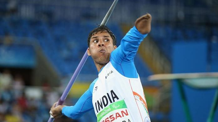 """<div class=""""paragraphs""""><p>Devendra Jhajaria's last two Paralympic appearances produced World Record throws.</p></div>"""