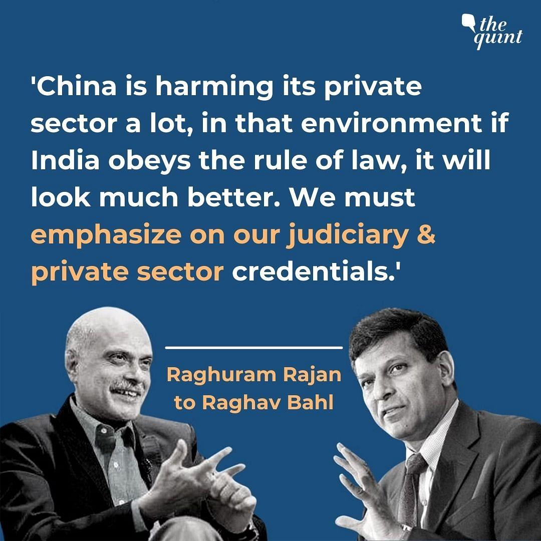 'Global Leadership Collapsed During COVID': Raghuram Rajan Speaks to Raghav Bahl