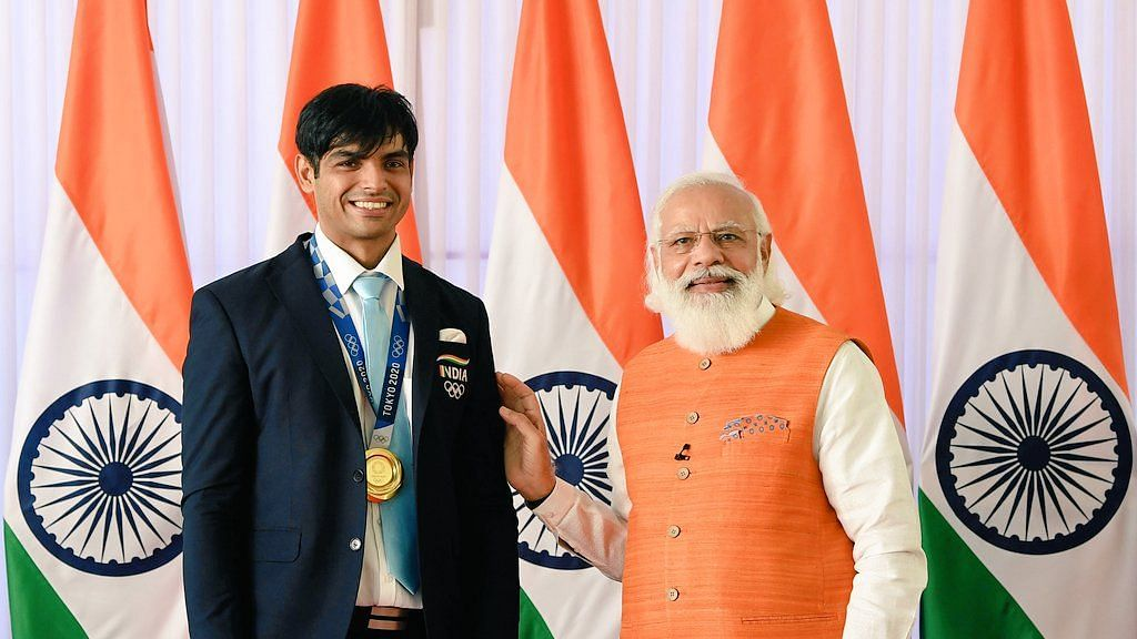 Tokyo Olympics Gold Medallist Neeraj Chopra Thanks PM Modi for Active Support