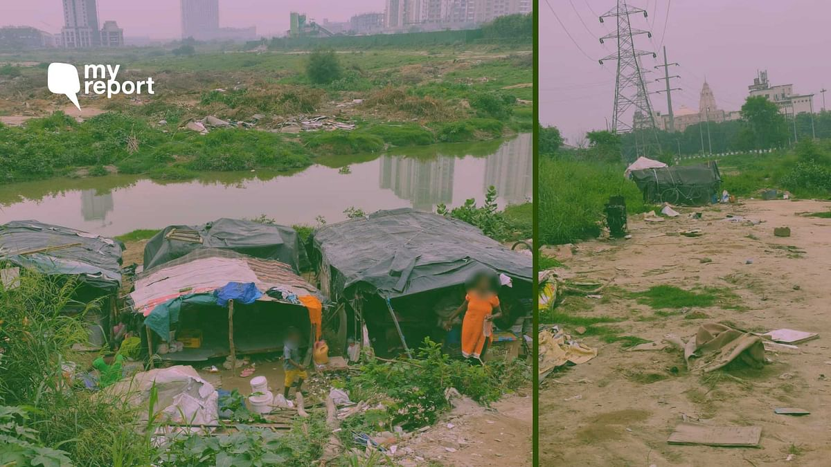 'Hutments Cleared in Noida, Dwellers Left Without Ration, Belongings for a Week'