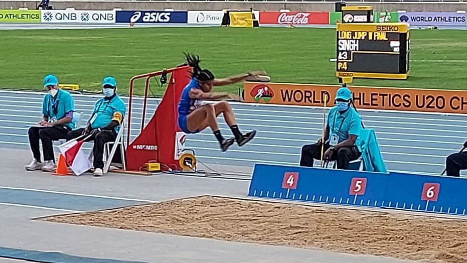 Watch: Shaili Singh Wins Silver at U-20 World Athletics Championship