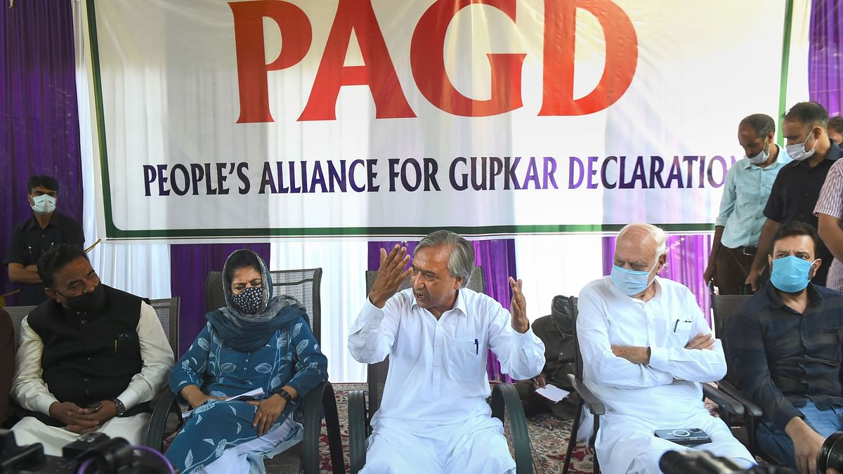 Gupkar Alliance Adopts Resolution To Restore J&K's Special Status
