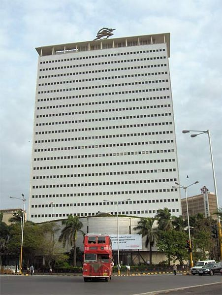 """<div class=""""paragraphs""""><p>The Air India tower at Nariman Point.</p></div>"""