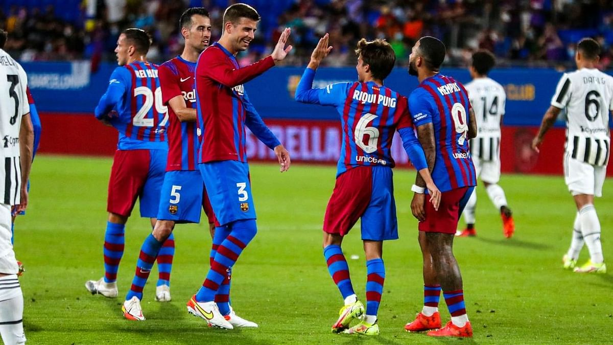 Barcelona Start Life Without Messi, Beat Juventus 3-0 In Friendly Match