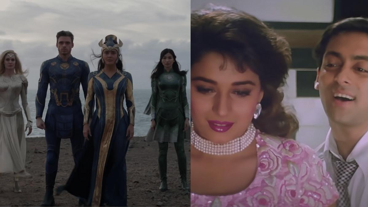 Is Marvel's 'Eternals' Theme Music Similar to a 'Hum Aapke Hain Koun' Song?