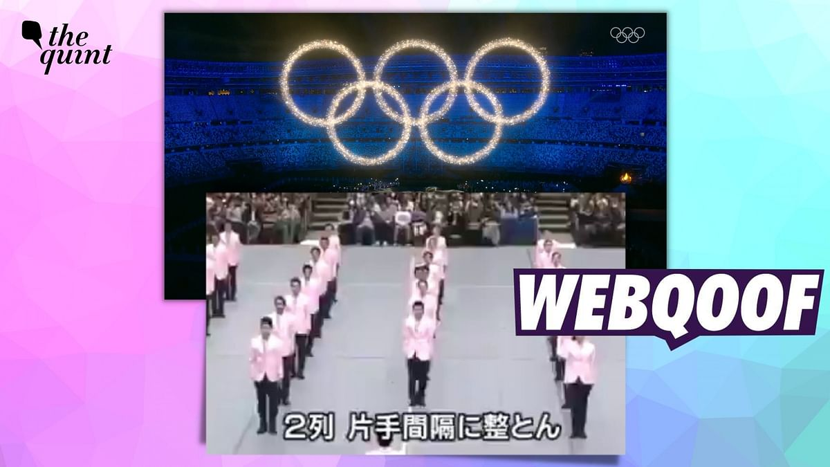 Old Video From Japan Shared as Visuals From 'Tokyo Olympics Closing Ceremony'